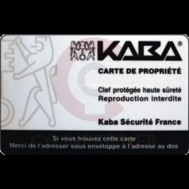 Clé Picard Kaba