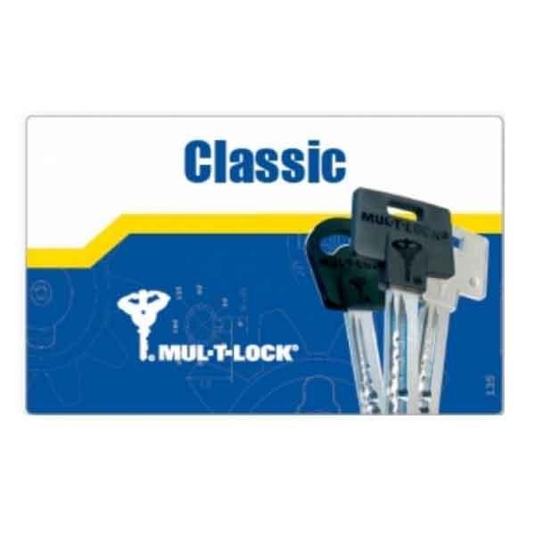 Double de clé Mul-T-Lock Classic PVC