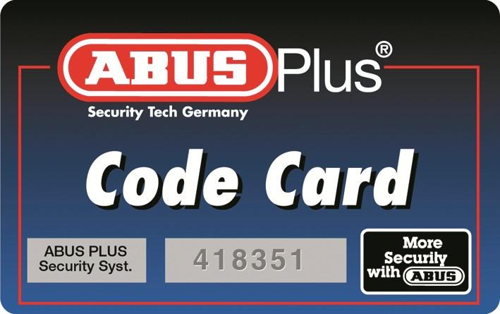 Carte de propriété ABUS