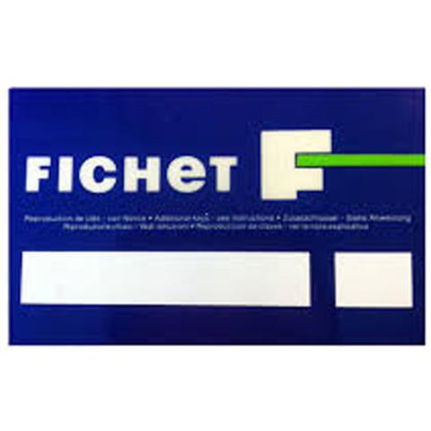 Double de clé Fichet 480