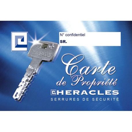 Double de clé Héraclès HXR