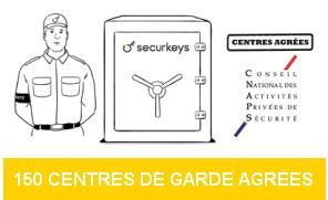 Centres de garde de clés agréés CNAPS